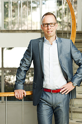 Erik Wikander, vd för Mäklarhuset.