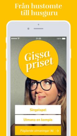 Svensk Fastighetsförmedling lanserar spelapp